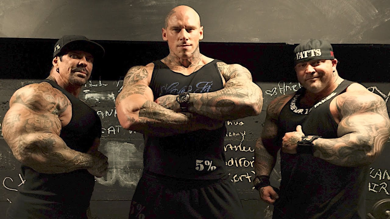 SHOULDERS AT THE ARNOLD - MARTYN FORD - BIG FRANK - RICH