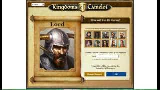 Kingdom of Camelot (Facebook) Gameplay