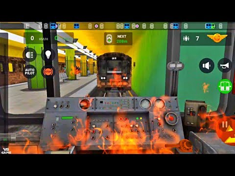 81-714.6 Business Line Subway Simulator 3D - Android Gameplay