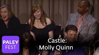 Castle - Molly Quinn on Nathan Fillion (Paley Center Interview)