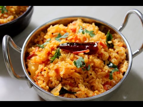 Tomato rice recipe south indian how to make tomato rice for tomato rice recipe south indian how to make tomato rice for breakfast tomato bath thakkali sadam youtube forumfinder Gallery