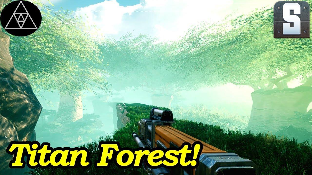 Satisfactory Gameplay [deutsch] #44 ► Titan Forest Biome! Artefakte &  Festplatten sammeln!