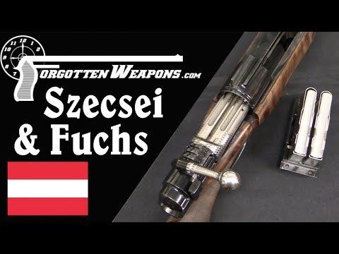 Szecsei & Fuchs Double Barrel Bolt Action Dangerous Game Rifle