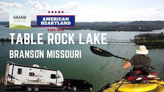 Ep. 163: Table R๐ck Lake | Branson Missouri RV travel camping kayaking