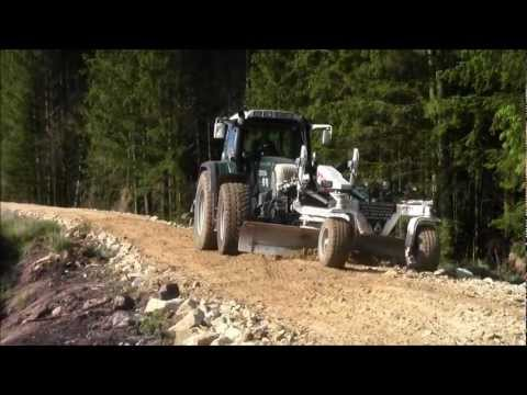 Forest roads being built