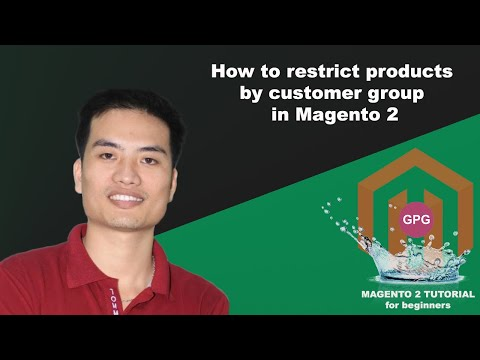 How to restrict products by customer group in Magento 2