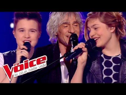 Simon Garfunkel Mrs Robinson Louane Lois Silvin Louis Bertignac The Voice 2013 Demi Finale Youtube