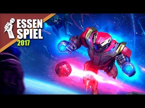 Corball: The Zero-Gravity Sport By Burning Games At Essen SPIEL '17