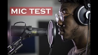 Shure SM58 / AKG C214 / Blue Spark / Shure SM7b - MIC TEST (studio-inside production) HD
