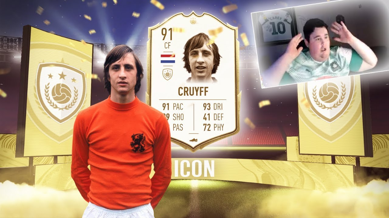 OMFG I PACKED 91 CRUYFF!!!  - THE GREATEST FIFA 20 PACK OPENING!