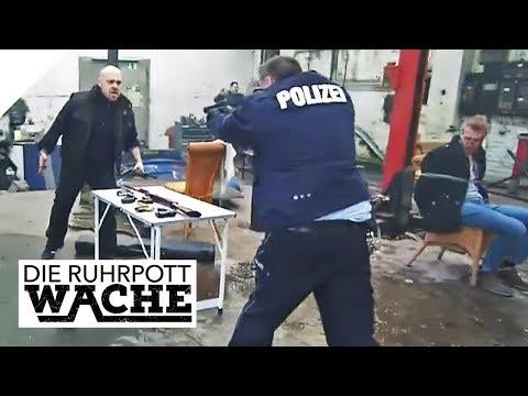 Auf frischer Tat ertappt: Verängstigt und gegen  Die Ruhrpottwache  SAT.1 TV