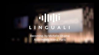 Michelle Obama à l'AccorHotels Arena : audience massive et première technologique pour Linguali