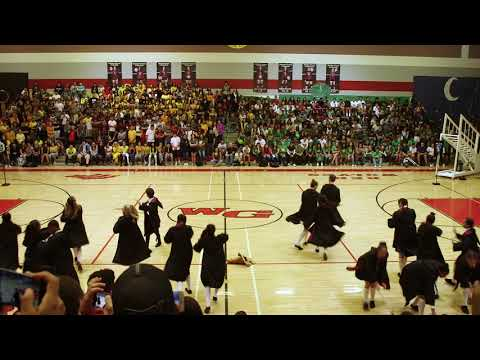 Valentine In The Morning - High School Dance Team Does A Harry Potter Routine!