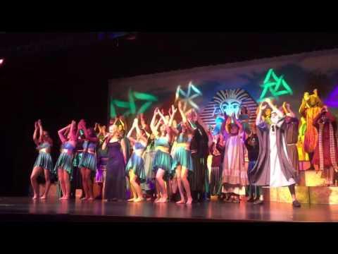 Joseph spring musical 2016 Ridge High in Davenport