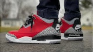 On-foot Look @ RED CEMENT Retro 3