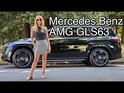 2021 Mercedes Benz AMG GLS 63 // 600 Plus Horsepower SUV