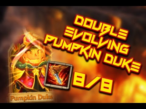 Castle Clash: Double Evolving Pumpkin Duke ❚ DISCLAIMER