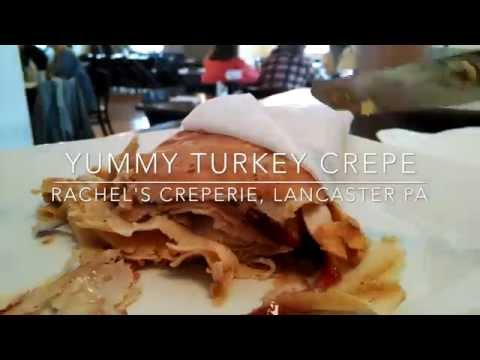 Turkey Crepe at Rachel's Creperie