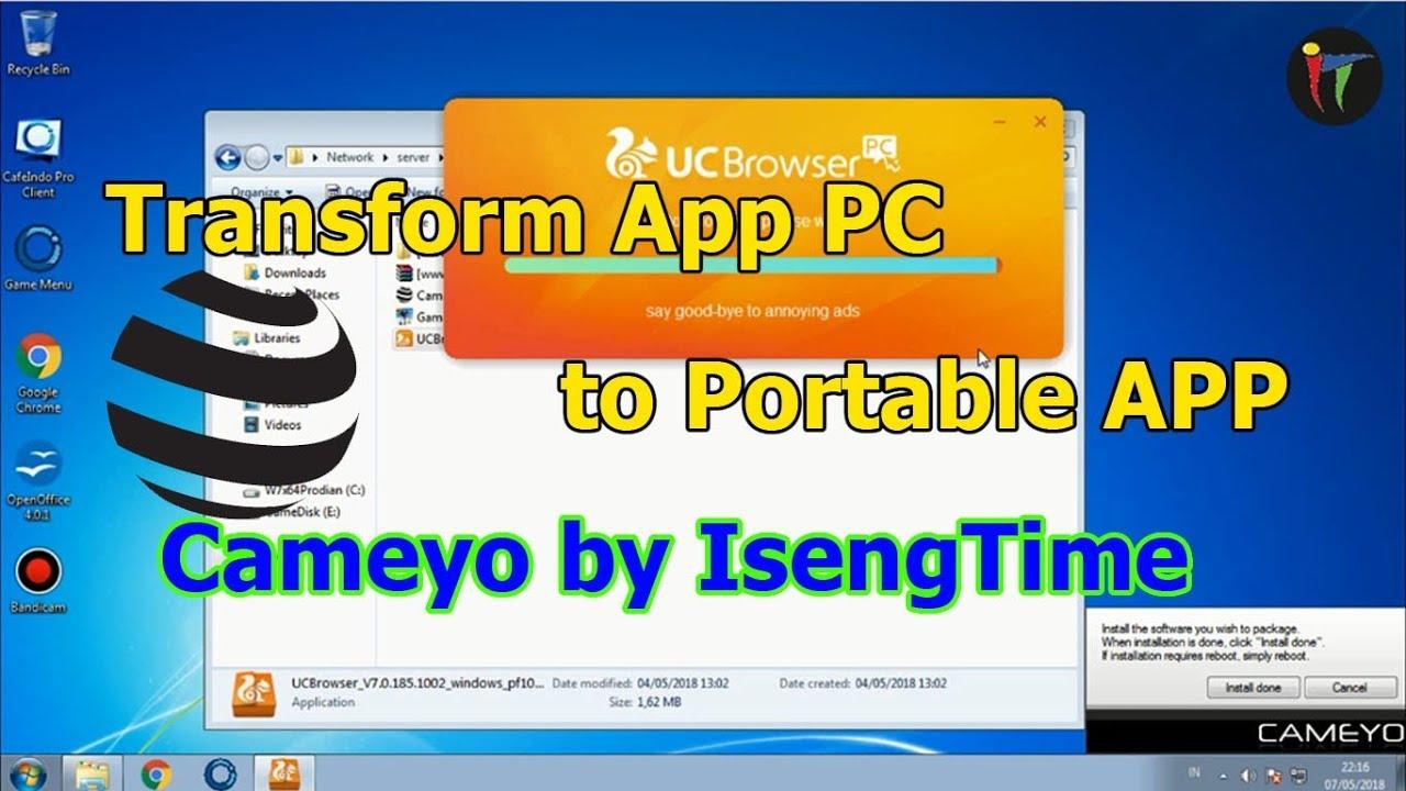 Simple Tutorial Membuat Program Pc Menjadi Portable Dengan Cameyo Iseng Time Youtube