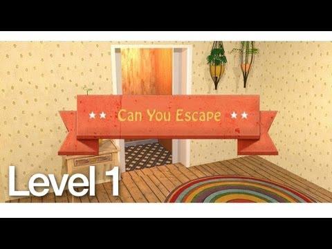 Can You Escape Walkthrough Level 1