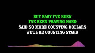 OneRepublic   Counting Stars Karaoke