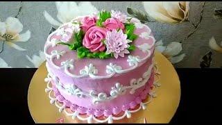 Торт на день рождения для женщины