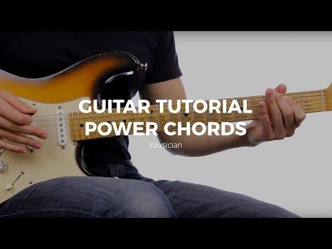 Guitar Tutorial - Power Chords