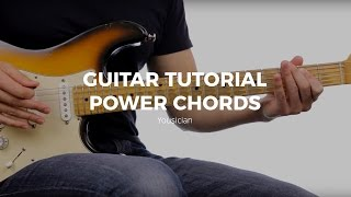guitar tutorial power chords