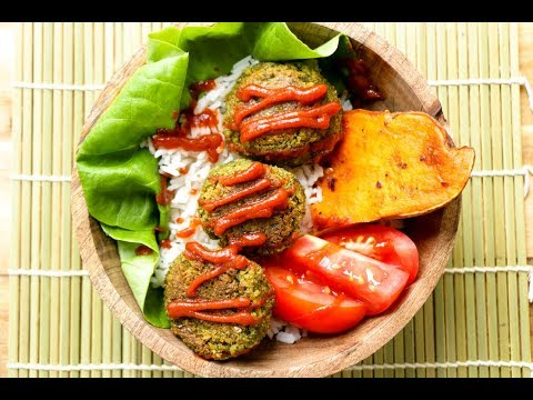 Baked Veggie Balls  | The Buddhist Chef