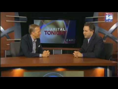 Puppet Pat on Captial Tonight   News 14 Carolina