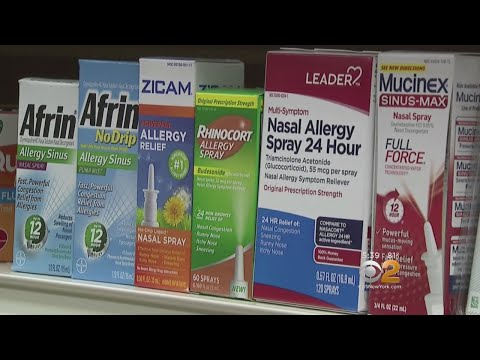 Warning About Over-The-Counter Nasal Sprays