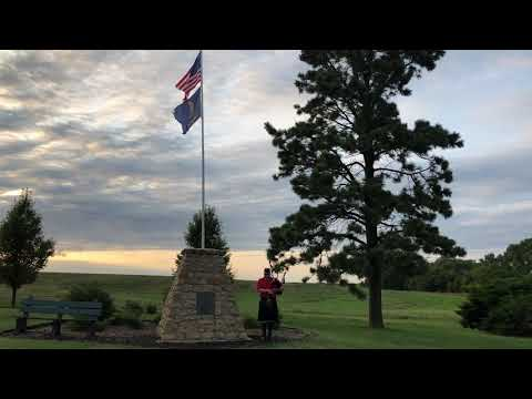 Journey To The The Geographic Center Of The Continental United States. Lebanon, Kansas.