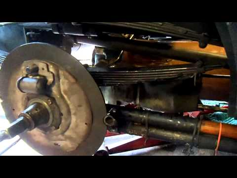 Stanley Steam Car 1916   Hydraulic Brake  Conversion  Lewistown Pa