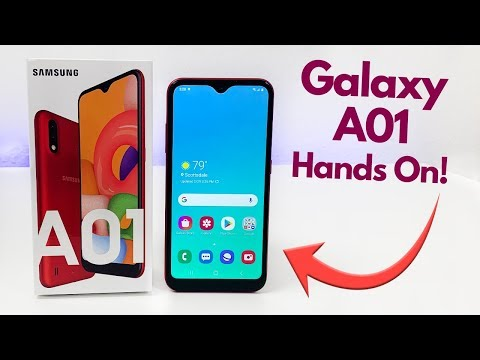 Samsung Galaxy A01 - Hands On & First Impressions!