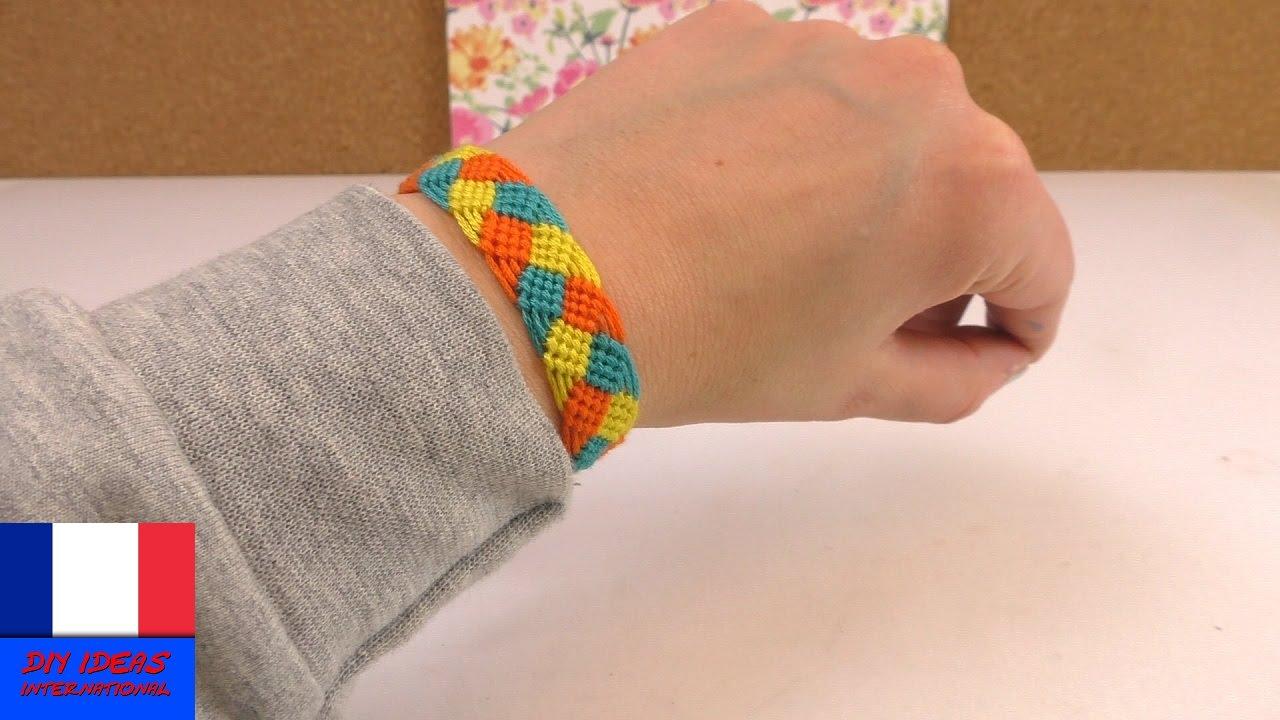Fabulous Fabriquer un bracelet de l'amitié DIY | Bracelet à tisser à faire  TL83
