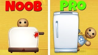 KICK THE BUDDY: NOOB vs PRO | Appliences