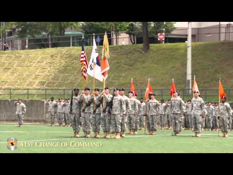 41st Signal Battalion Change of Command