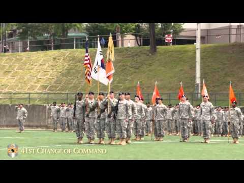 41st Signal Battalion Change Of Command