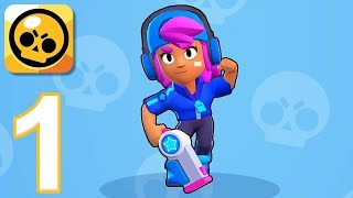 Brawl Stars - Gameplay Walkthrough Part 1 - Shelly: Gem Grab (iOS, Android)