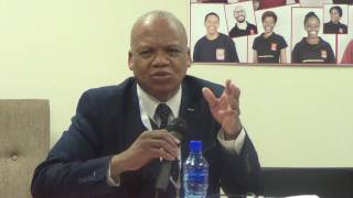 Commissioner Jonas Ben Sibanyoni on SAHRC's work on Police and Human Rights.