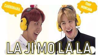 CARBONARA ? TONY MONTANA ? LAJIMOLALA ? Full Video - BTS Jimin Funny Moment (RUN BTS) 🤣