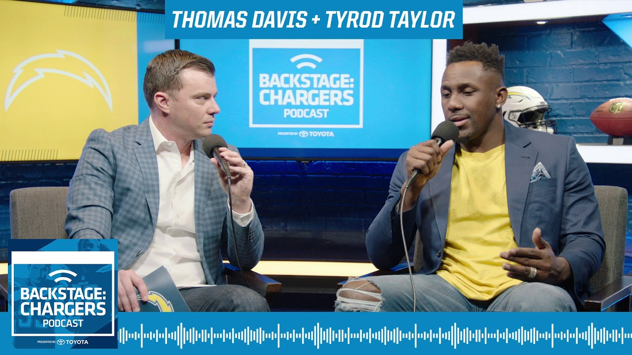 Backstage: Chargers Podcast - Thomas Davis & Tyrod Taylor