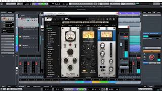 Mixing An Ambient Guitar Track with Slate VMR.