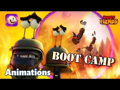 Boot Camp - A Best Fiends Animation