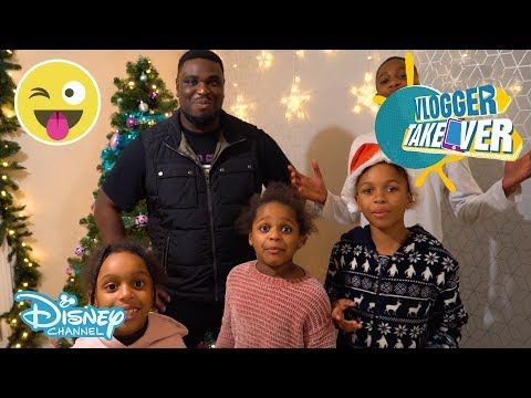 Vlogger Takeover | Reaction - Xmas Makeover! | Disney Channel UK