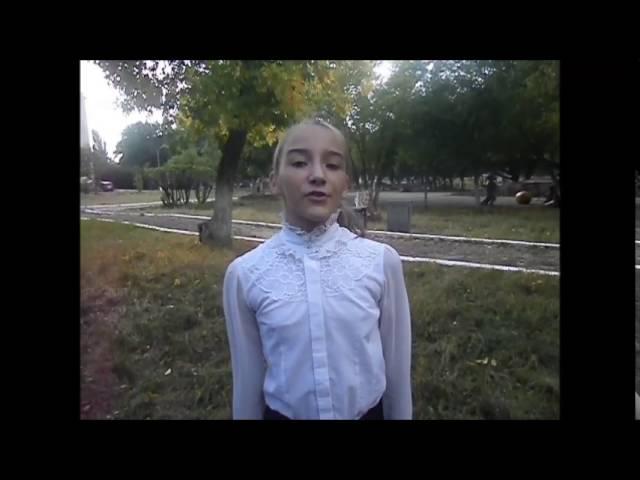 Софья Батрак читает произведение «Первый утренник, серебряный мороз!» (Бунин Иван Алексеевич)