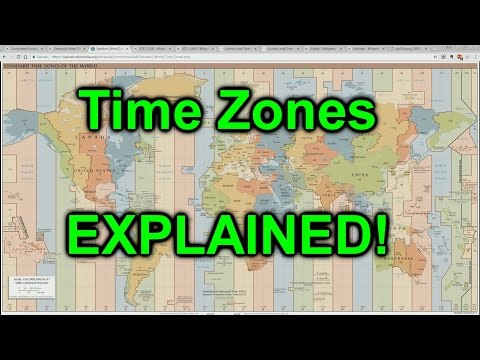 World Time Zones EXPLAINED