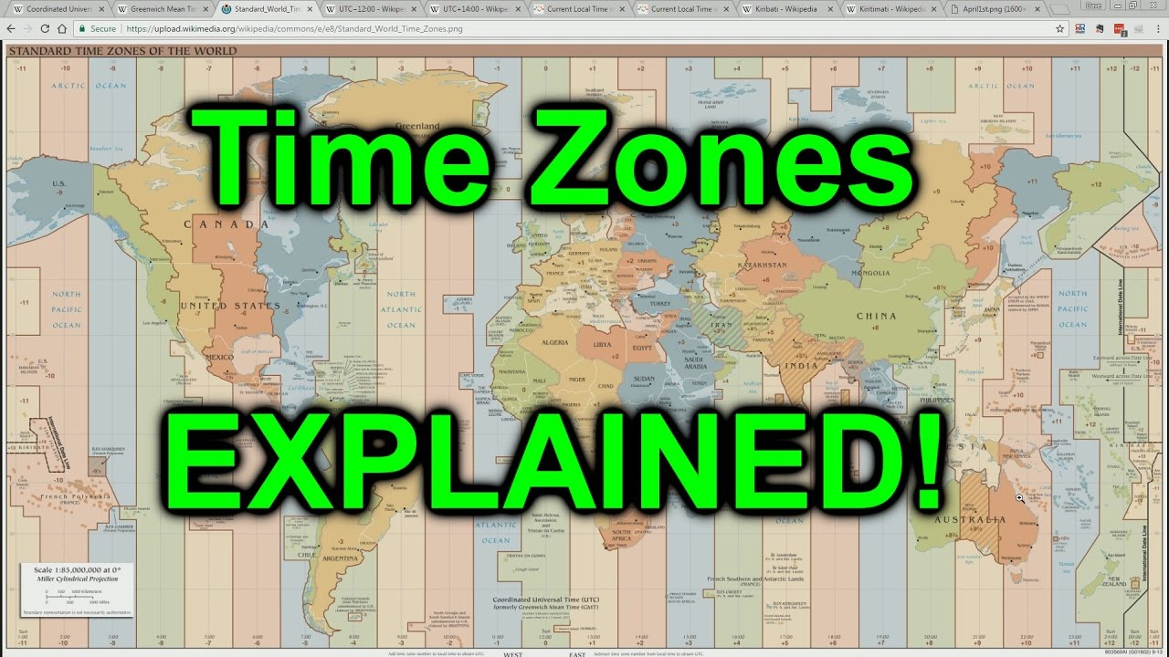 World time zones explained youtube world time zones explained gumiabroncs Images