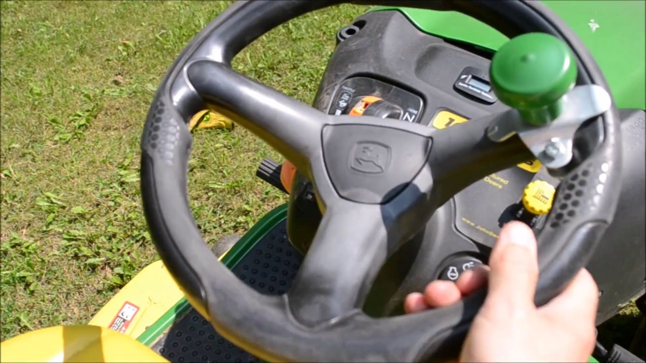 A Mon John Deere Riding Mower Steering Problem Youtube. A Mon John Deere Riding Mower Steering Problem. John Deere. John Deere La140 Steering Parts Diagram At Scoala.co