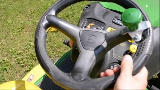 A Common John Deere Riding Mower Steering Problem